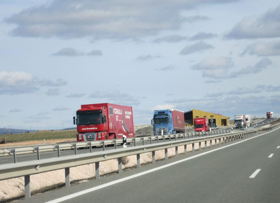 Cartel de camiones UE
