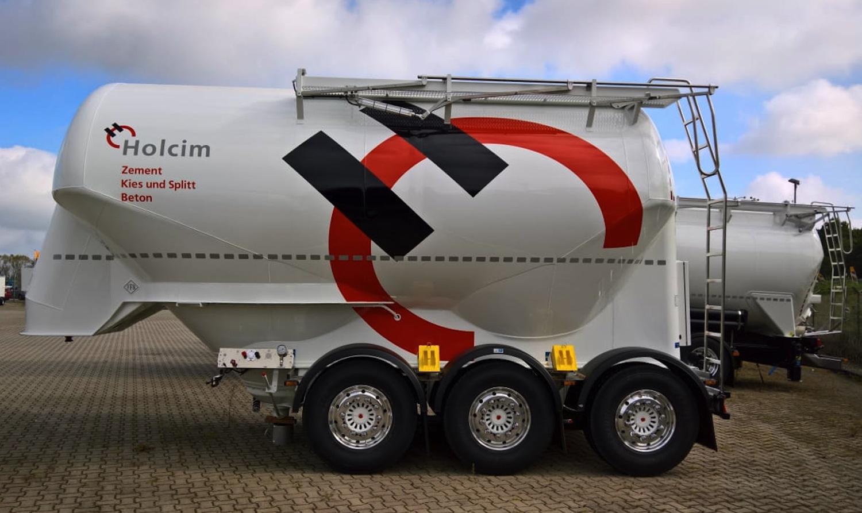 Transcamion transporte camiones furgonetas for Cisternas de cemento