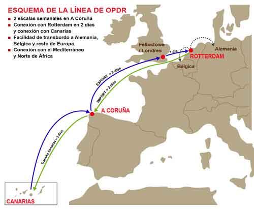 Puertos navieras transporte maritimo barcos buques - Transporte entre islas canarias ...