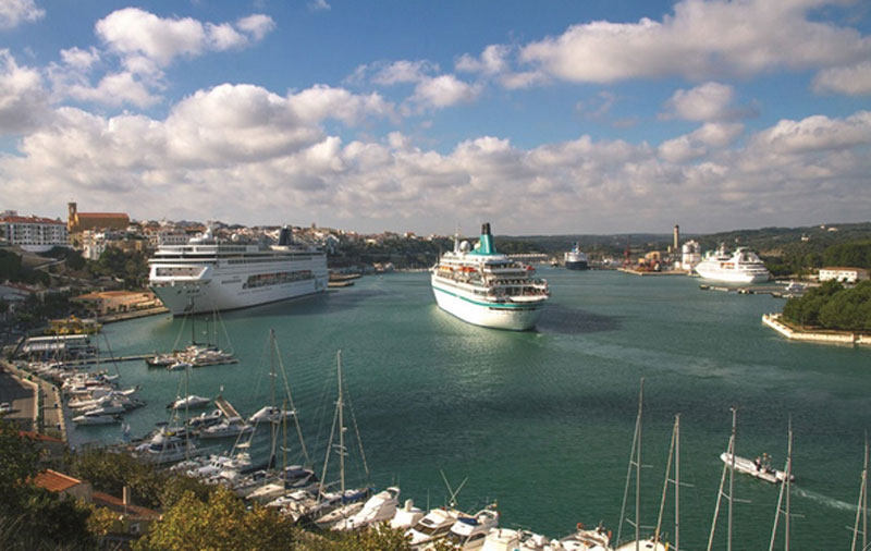 Puertos navieras transporte maritimo barcos buques - Transporte islas baleares ...